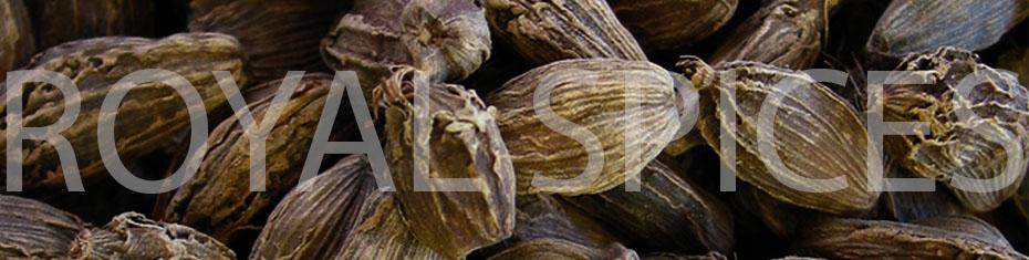 Grade-A Whole Big Cardamom